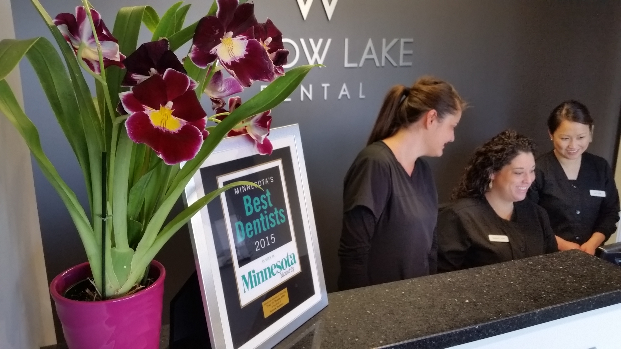 WLD Front Desk Flowers