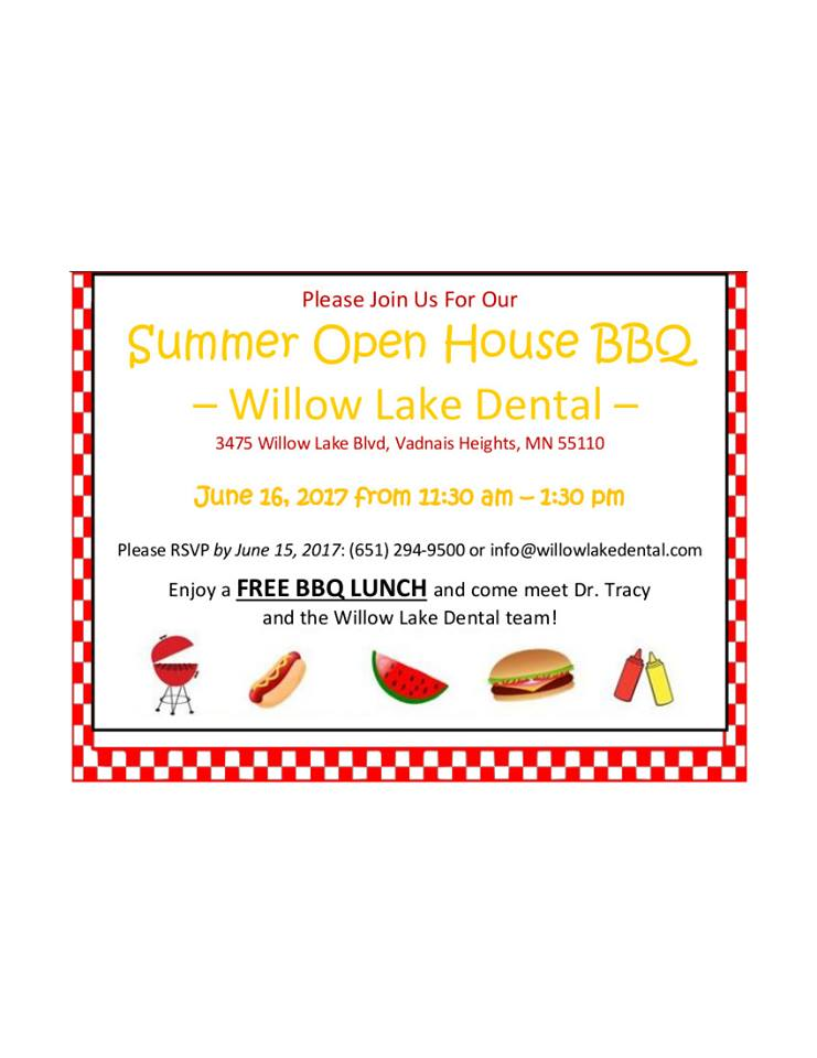 Willow Lake Dental Summer BBQ